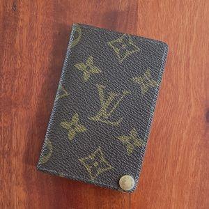 Louis Vuitton Porte Cartes Pression Card Holder